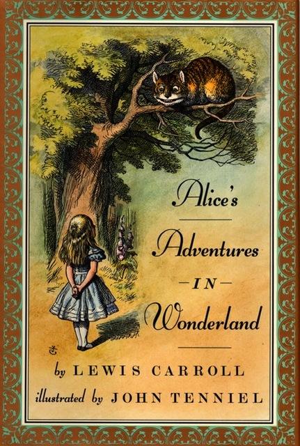 copertina Alice nel Paese delle Meraviglie di Lewis Carroll